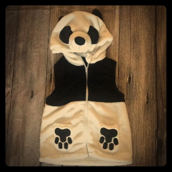 Other - Toddler Panda vest costume